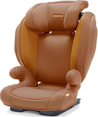Автокресло Recaro Monza Nova 2 Seatfix гр. 2/3 расцветка Select Sweet Curry автокресло группа 2 3 15 36 кг recaro monza nova 2 seatfix xenon blue