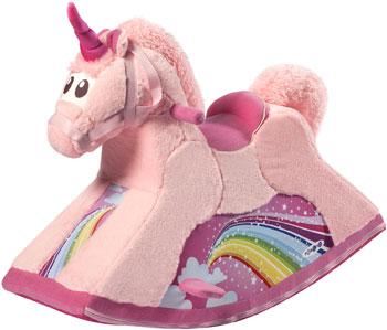 Детская качалка Paremo ''Единорог розовый''