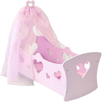 Люлька Paremo серии ''Любимая кукла'' Мини цвет Мия кроватки для кукол paremo с бельевым ящиком любимая кукла мини