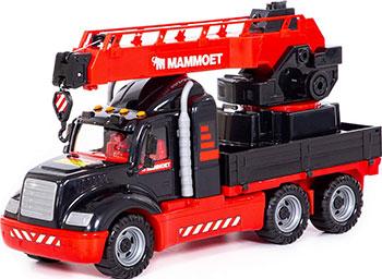 Автомобиль-кран Polesie Mammoet 56832_PLS с поворотной платформой
