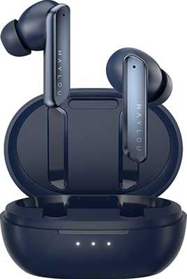 Фото - Наушники беспроводные Xiaomi Haylou W1 blue наушники беспроводные xiaomi haylou w1 blue