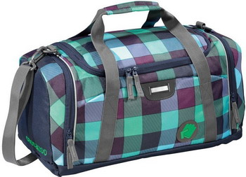 Фото - Сумка спортивная Coocazoo SporterPorter Green Purple District зеленый/черный сумка спортивная coocazoo sporterporter springman мятный