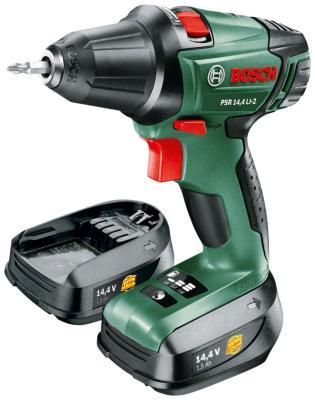 цена на Дрель-шуруповерт Bosch PSR 14 4 LI-2 Nano 060397340 P