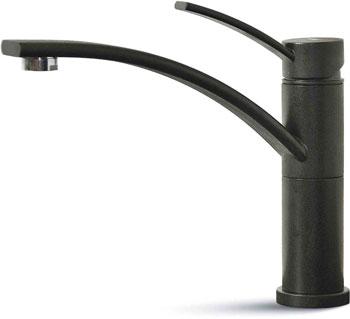цена на Кухонный смеситель Elleci TIGRI vitrotek (86) black MVKTIG 86