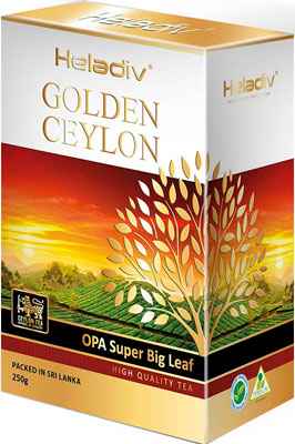 Чай черный HELADIV GC OPA SUPER BIG LEAF 250 g