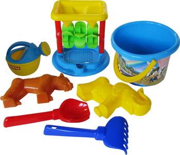 Набор для песочницы Полесье №350 полесье набор игрушек для песочницы полесье marvel человек паук 11 4 предмета