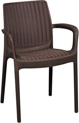 Стул Keter Bali Mono Armchair 17190206 коричневый