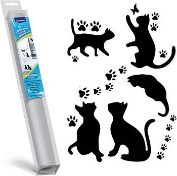 Декоративная наклейка Topperr Кошки 7008