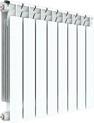 Водяной радиатор отопления RIFAR A 500 6 секций