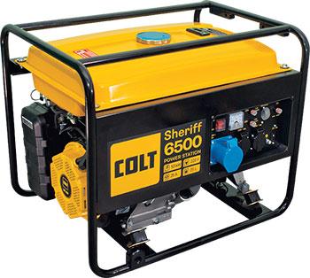Электрический генератор и электростанция Colt Sheriff 6500