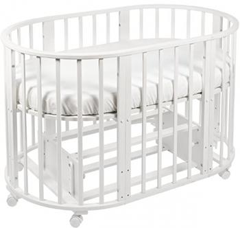 Детская кроватка Sweet Baby Delizia Bianco (Белый) с маятником 383 066