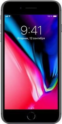 Смартфон Apple iPhone 8 Plus 256 ГБ серый космос (MQ8P2RU/A) телефон apple iphone 8 64gb a1905 серый космос ru a
