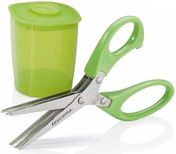 Ножницы для зелени Tescoma PRESTO 15 cм с емкостью 888221