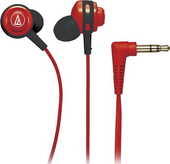 Вставные наушники Audio-Technica ATH-COR 150 RD наушники audio technica ath sport2 rd вставные