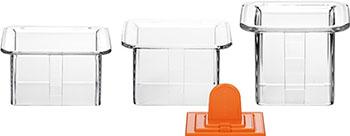 Формочки для придания блюдам формы Tescoma PRESTO FoodStyle квадраты 3pc 422212
