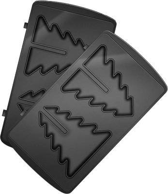 Панель для мультипекаря Redmond RAMB-27 (Ёлка) (Черный) панель для мультипекаря redmond ramb 26 бургер черный