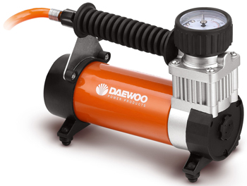 Компрессор автомобильный Daewoo Power Products DW 55 PLUS