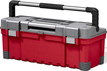 "Ящик Keter 26"" Keter HAWK QUICK LATCH ящик для инструментов keter quick latch toolbox 22 hammer 22 ql 17186821"