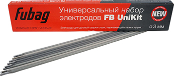 Универсальный набор электродов FUBAG FB UniKit O 3мм 38883