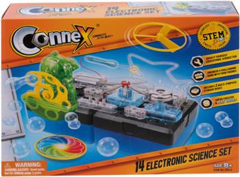 Набор Amazing Toys Connex 38914 14 научных экспериментов. Электронный конструктор 1CSC 20003407 электронный конструктор electronic blocks лампочка yj 188171445 1csc 20003424