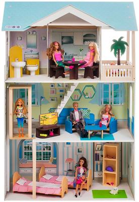 цена на Кукольный дом Paremo Лацио (с мебелью) PD 318-16