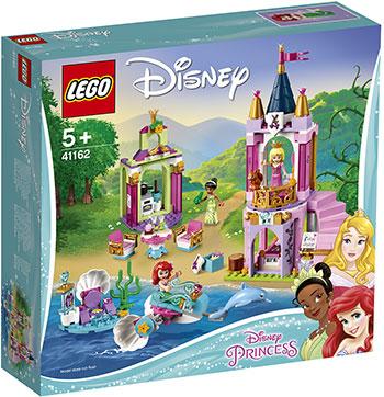 Конструктор Lego Королевский праздник Ариэль Авроры и Тианы 41162 Disney Princess цены