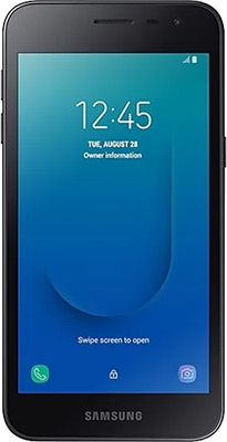 Смартфон Samsung Galaxy J2 core SM-J260F черный смартфон samsung galaxy j2 prime 8gb sm g532f черный титан