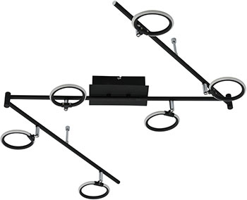 Светильник точечный DeMarkt Этингер 704025106 90*0 2W LED 220 V цены