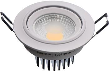 Светильник встроенный DeMarkt Круз 637015501 1*5W LED 220 V