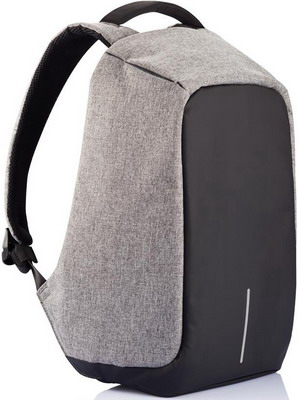 Рюкзак XD Design Bobby P 705.542 серый рюкзак для ноутбука xd design bobby compact до 14 цвет темно серый темно синий 11 л