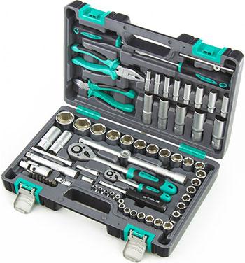 Набор инструментов 1/2 Stels 14108 набор инструментов 1 4 crv пластиковый кейс 29 предм stels 14100
