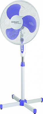 Вентилятор Scarlett SC -SF 111 B 10 белый вентилятор scarlett sc 176