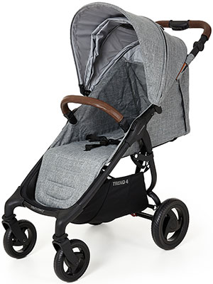 Коляска Valco baby Snap 4 Trend Grey Marle 9816 люлька valco baby external bassinet для коляски snap trend snap 4 trend ultra trend grey marle