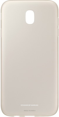 Чехол (клип-кейс) Samsung J7 (J 730) Jelly Cover gold EF-AJ 730 TFEGRU чехол для смартфона samsung для galaxy j7 2016 slim cover прозрачный ef aj710ctegru ef aj710ctegru