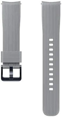 Ремешок Samsung Galaxy Watch (42мм) gray (M) ET-YSU 81 MJEGRU цена и фото