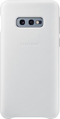 Чехол (клип-кейс) Samsung S 10 e (G 970) LeatherCover white EF-VG 970 LWEGRU чехол клип кейс samsung s 10 e g 970 leathercover gray ef vg 970 ljegru