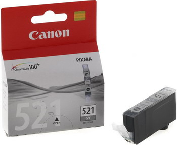 Фото - Картридж Canon CLI-521 GY 2937 B 004 Серый утюг braun si 3054 gy