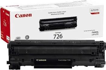 Картридж Canon 726 3483 B 002 Чёрный сканер 002 автомобильный диагностический bluetooth 327 b