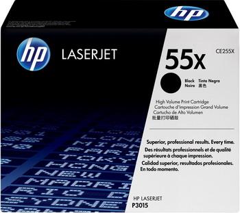 Картридж HP CE 255 X Черный