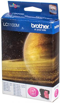 Фото - Картридж Brother LC 1100 M пурпурный lee cooper часы lee cooper lc 38g e коллекция leeds