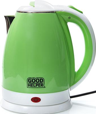 Чайник электрический GoodHelper KPS-180C зеленый цена и фото