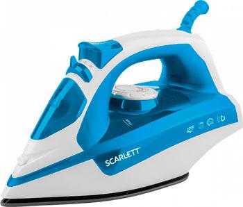 Утюг Scarlett SC-SI30P17 голубой утюг scarlett sc si30p17 голубой белый
