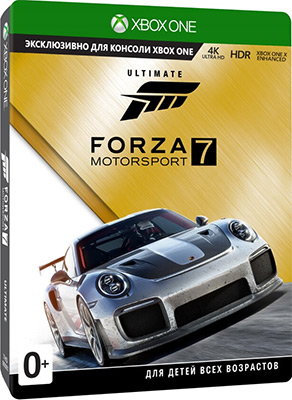 Игра для приставки Microsoft Xbox One: Forza Motorsport 7: Ultimate Edition Рус. версия (GYL-00024) цена