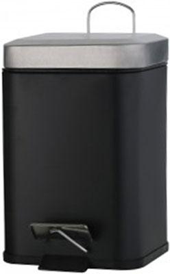 Ведро косметическое Axentia 125486ч (3 литра) черное
