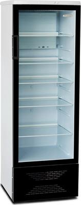 Холодильная витрина Бирюса B 310 чёрный фронт недорого