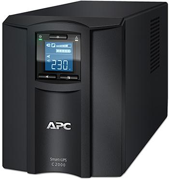цена на Источник бесперебойного питания APC Smart-UPS C SMC2000I 1300Вт 2000ВА черный