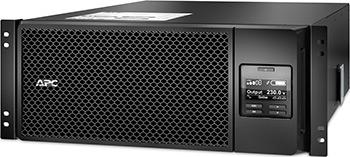 Источник бесперебойного питания APC Smart-UPS SRT SRT6KRMXLI 6000Вт 6000ВА черный источник бесперебойного питания apc smart ups srt 1500va rm 230v 1500va черный srt1500rmxli