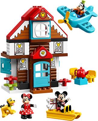 Конструктор Lego Летний домик Микки 10889