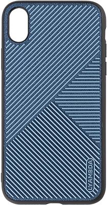 Чехол (клип-кейс) Lyambda ATLAS для iPhone XR (LA10-AT-XR-BL) Blue чехол x level enjoy card для apple iphone xr blue