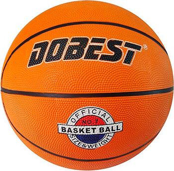 Мяч баскетбольный DoBest RB5 р.5 резина оранж. reveur